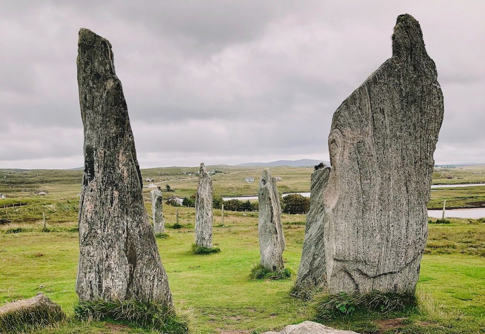 image of Celtic stone circle