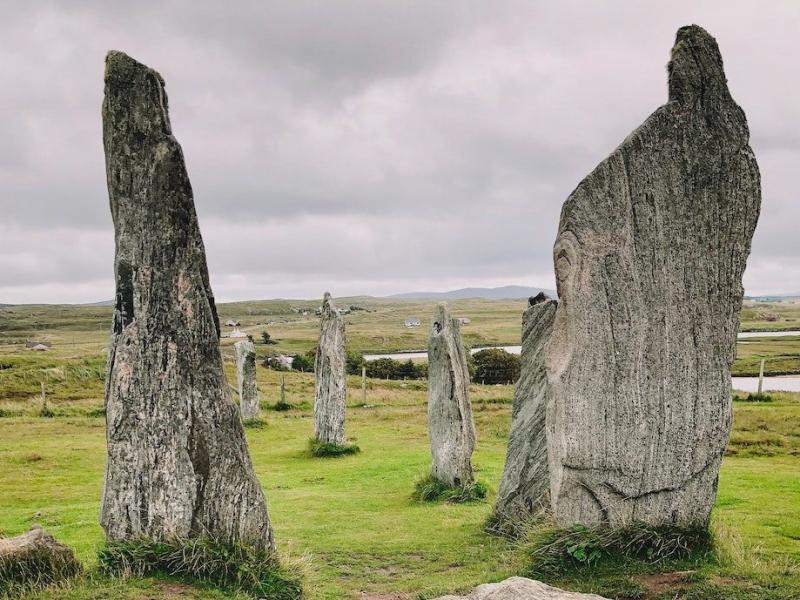 image of Celtic stone circle