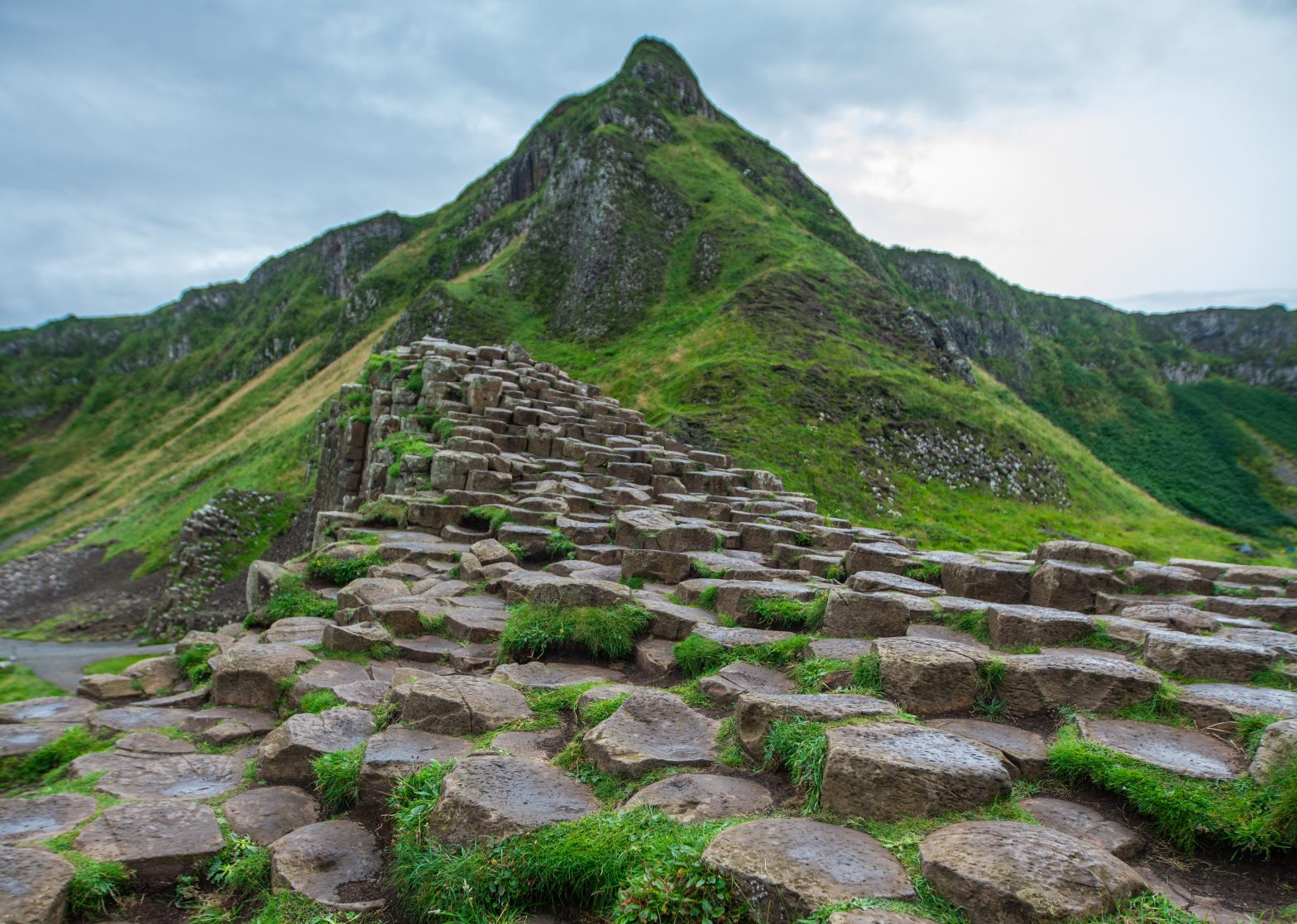 photo of Giant's Causeway in County Antrim in Northern Ireland