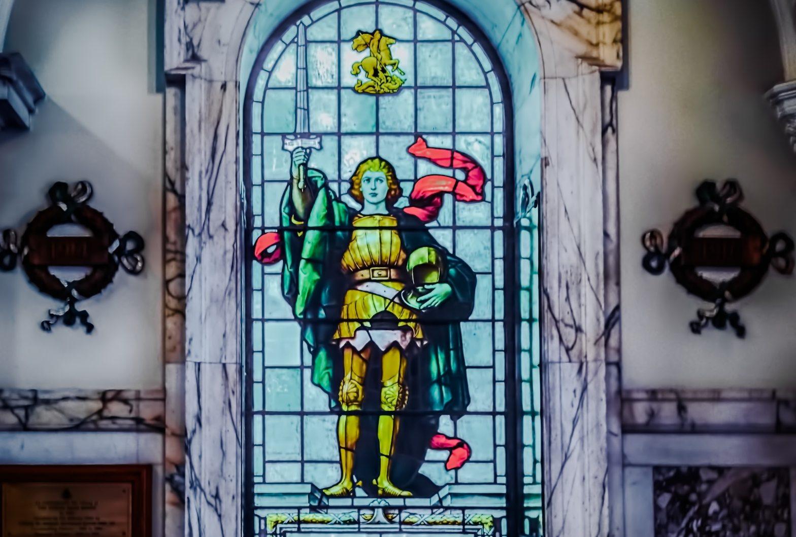 image of Irish warrior wielding sword